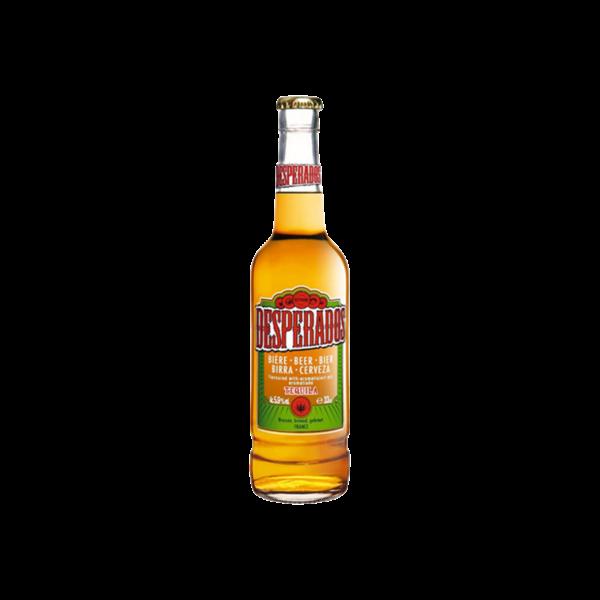 Desperados Tequila Flavored Beer Bottle 330 Ml Undefined