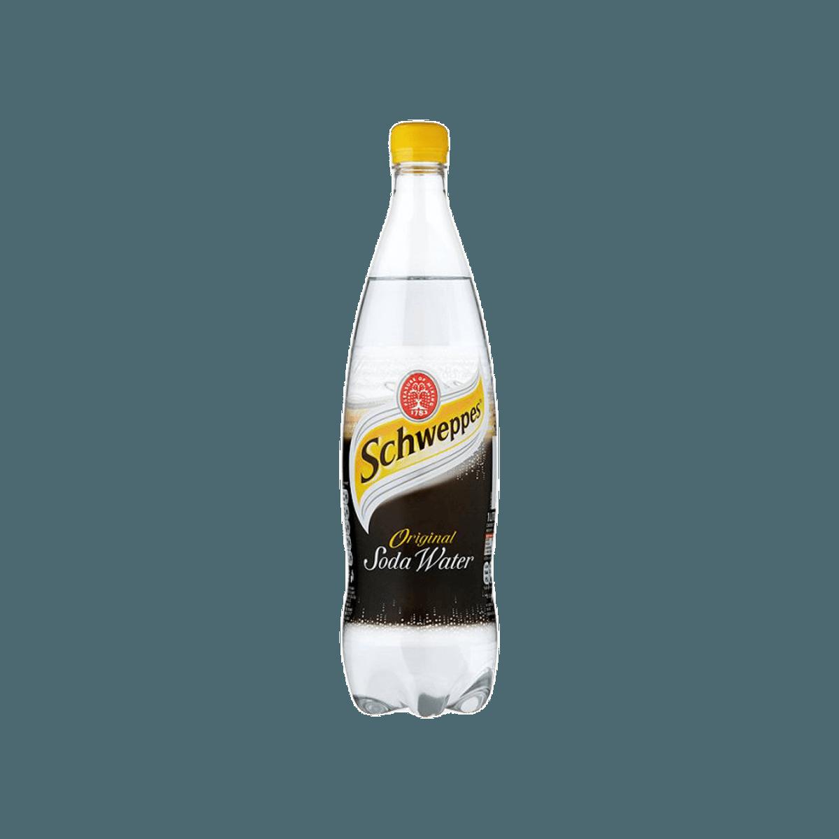 شويبس الماء الصودا في زجاجة 1 ل Undefined